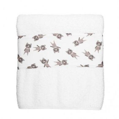Maki Mon Ami - Duży Ręcznik Kąpielowy z Misiem Dawidem