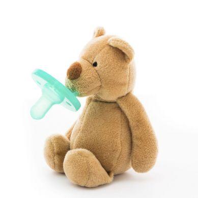Minikoioi - Smoczek Uspokajający z Przytulanką Brown Bear