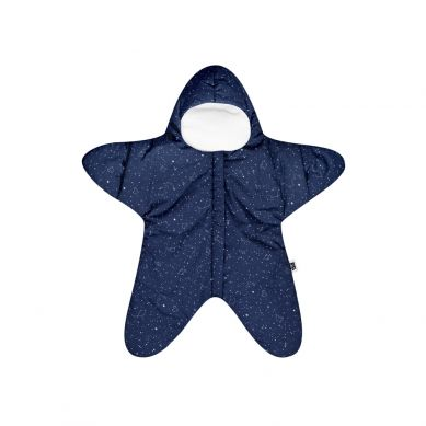 Baby Bites - Kombinezon Letni Star 3-6m Navy Blue