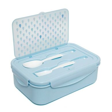 Petit Monkey - Lunchbox Bento Drops Blue