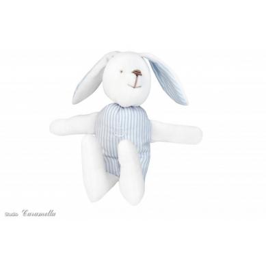 Caramella - Zajączek Błękitno-biały