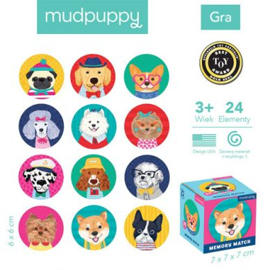 Mudpuppy - Gra Mini Memory Psy