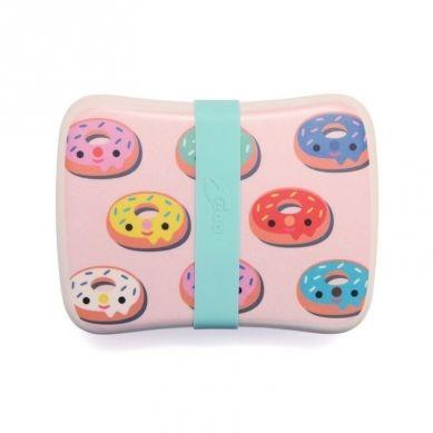 Petit Monkey - Bambusowy Lunchbox Donuts Blush