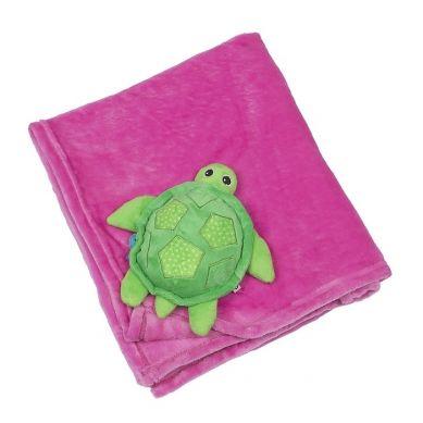 Zoocchini - Kocyk Różowy Żółwik