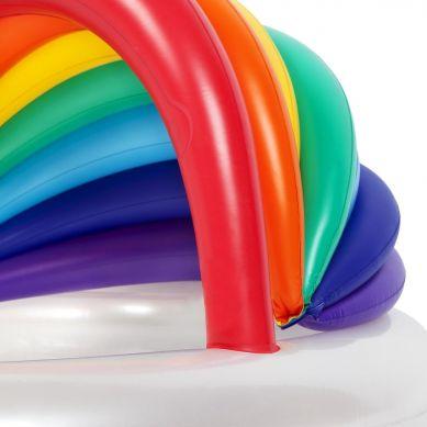 Sunnylife - Dmuchany Basenik Ogrodowy Rainbow
