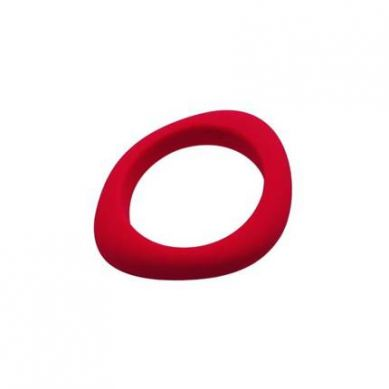 Jellystone - Bransoletka Silikonowa Organic Bangle Czerwona