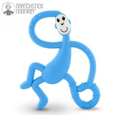 Matchstick Monkey - Gryzak Masujący ze Szczoteczką Light Blue 3m+