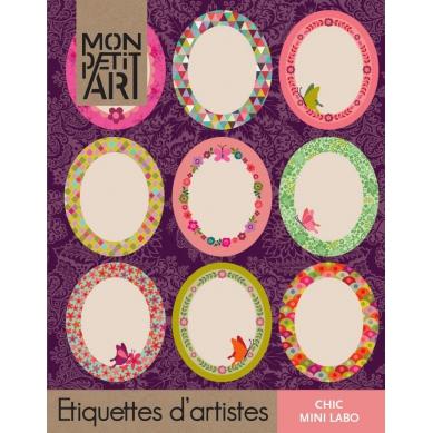 Mon Petit Art Książeczka z Naklejkami Chic Vintage