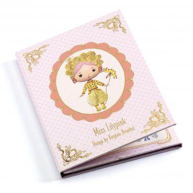 Djeco - Zestaw z Naklejkami Miss Lilypink