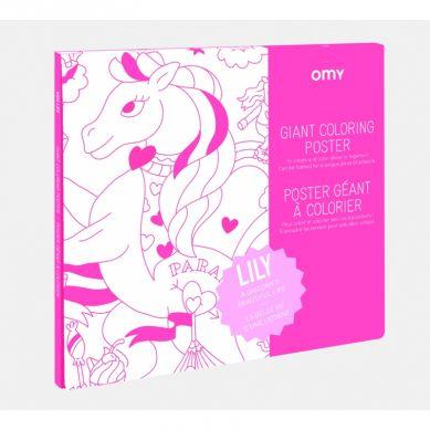 Omy - Kolorowanka Lily 100x70cm