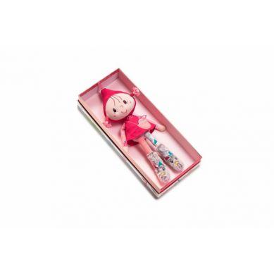 Lilliputiens - Lalka w Pudełku Czerwony Kapturek 30 cm