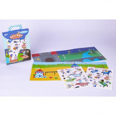 Apli Kids - Zestaw Naklejek z 2 Planszami Rycerze