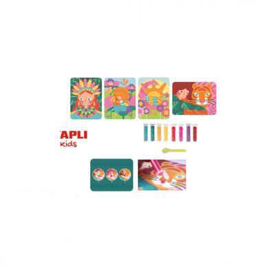 Apli Kids - Zestaw Artystyczny z Brokatem