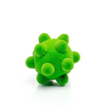 Rubbabu - Piłka Wirus Sensoryczna Zielona Mała
