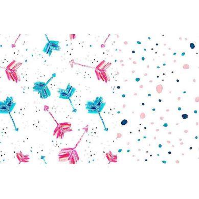 La Millou - Komplet Pościeli M Boho Neon Arrows & Boho Neon Drops
