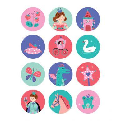 Mudpuppy - Gra Mini Memory Księżniczka