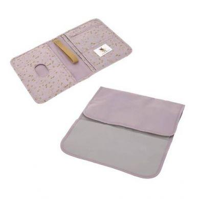 Lassig - Casual Label Przewijak Podróżny z Etui na Akcesoria Flowers Lilac
