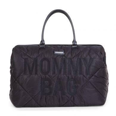 Childhome - Torba Mommy Bag Pikowana Czarna