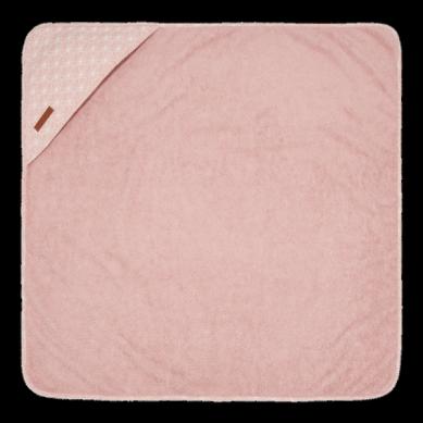 Little Dutch - Bawełniany Ręcznik Lily Leaves Pink