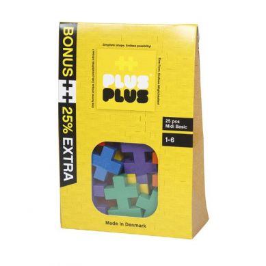 Plus Plus - Klocki Mini Basic 25szt