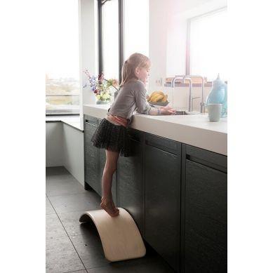 Wobbel - Deska do Balansowania Original Honey Aqua z Filcem