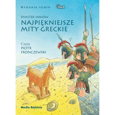 Wydawnictwo Media Rodzina - Audiobook Najpiękniejsze Mity Greckie