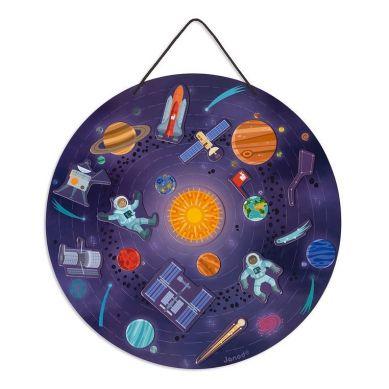 Janod - Układanka Magnetyczna Układ Słoneczny 7+