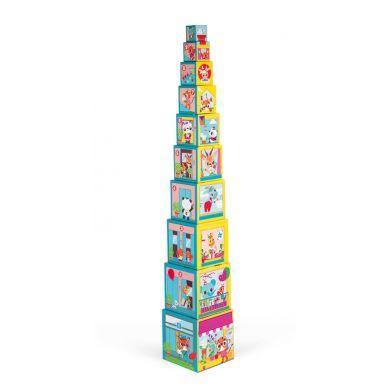 Janod - Piramida, Wieża 10 Kostek Przyjaciele z Miasta