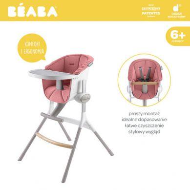 Beaba - Miękki Wkład do Krzesełka do Karmienia Up&Down Pink