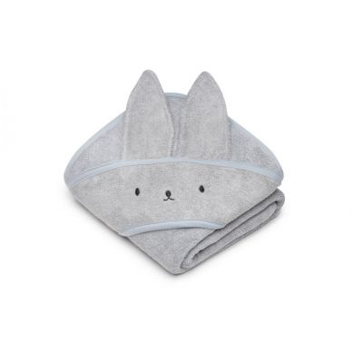 My Memi - Bambusowy ręcznik light grey - rabbit