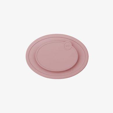 EZPZ - Silikonowa Pokrywka do Małego Talerzyka Mini Mat Pastelowy Róż