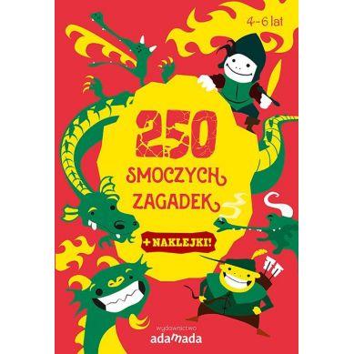 Wydawnictwo Adamada - 250 Smoczych Zagadek