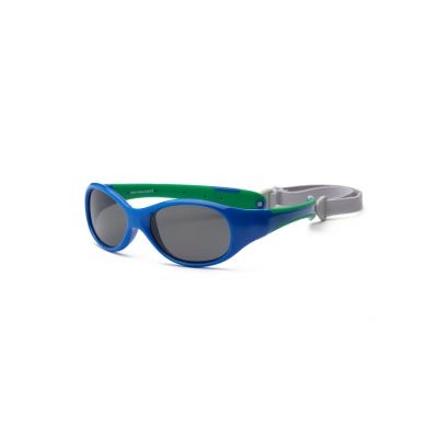 Real Kids - Okularki dla Dzieci  Explorer Polarized Royal and Green 4+