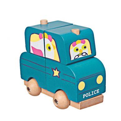 Egmont Toys - Drewniana Układanka Policja 18m+