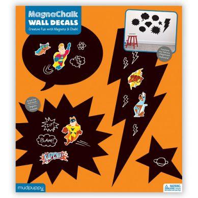 Mudpuppy - Tablice Magnetyczne z Magnesami Superbohaterowie