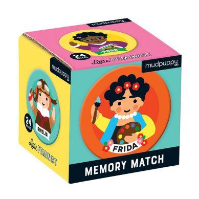 Mudpuppy - Gra Mini Memory Niezwykłe Kobiety