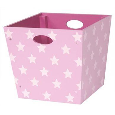Kids Concept - Pudełko Gwiazdki Różowe