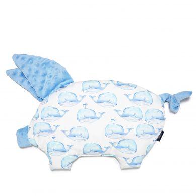 La Millou - Podusia do Wózka Sleepy Pig White Moby Sky