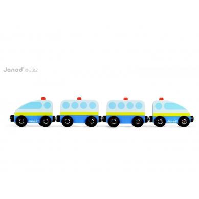 Janod -  Pociąg Strażacki Niebieski