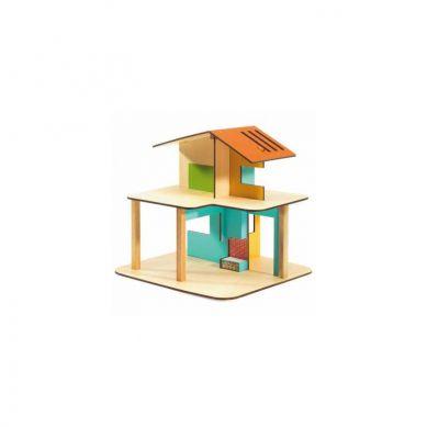 Djeco - Drewniany Domek dla Lalek Modern