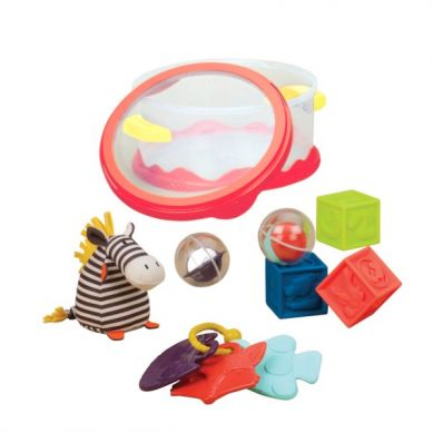 B. Toys - Zestaw dla Niemowląt Czerwony