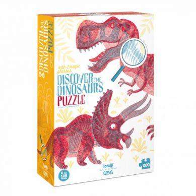 Londji - Puzzle dla Dzieci Odkryj Dinozaury 6+