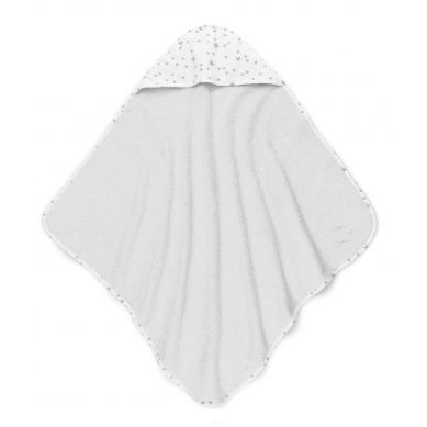 ColorStories - Ręcznik Bawełniany z Kapturem Milkyway Jasny Szary 72x72cm