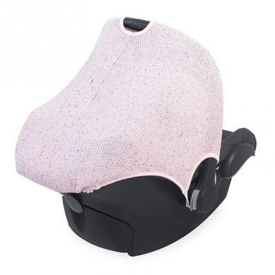 Jollein - Osłonka Tkana do Fotelika Nosidełka 0 - 9 m-cy Confetti Knit Vitange Pink