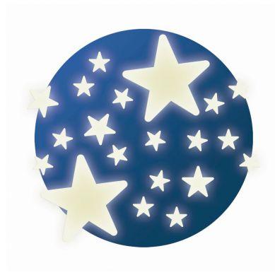 Djeco - Naklejki Ścienne Fluorescencyjne Stars