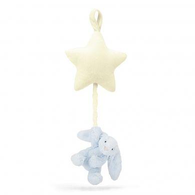 Jellycat -  Pozytywka Gwiazdka z Króliczkiem Blue