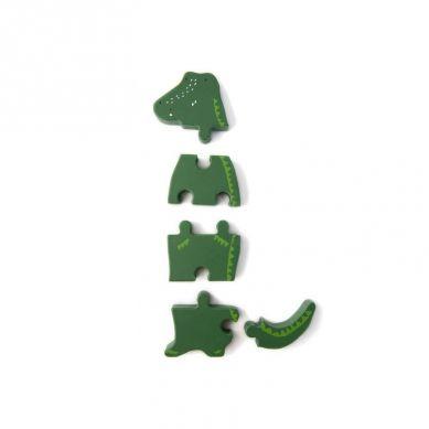 Trixie - Drewniane Puzzle Mr Crocodile