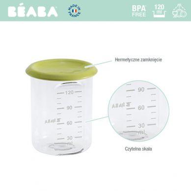 Beaba - Słoiczek z Hermetycznym Zamknięciem 120 ml Neon