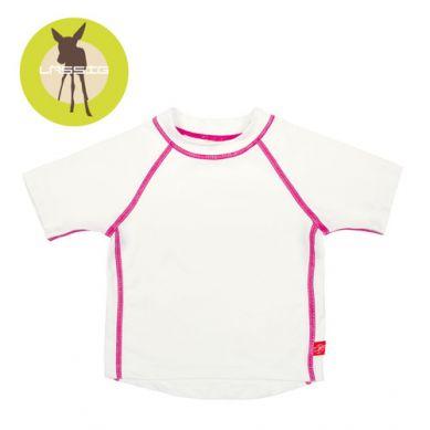 Lassig - Koszulka T-shirt do Pływania UV 50+ White 12m+