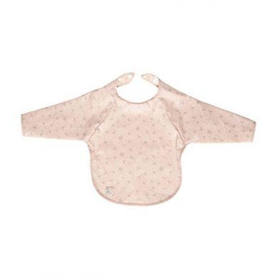 Bebe-Jou - Śliniak z długim rękawem Wish Pink 6m+